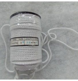 Cotton Piping Cord 4mm