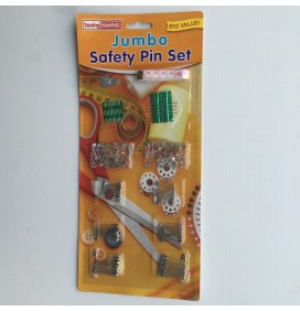 Jumbo Safety Pin Set