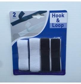 2 Pack Hook and Loop Adhesive Strip