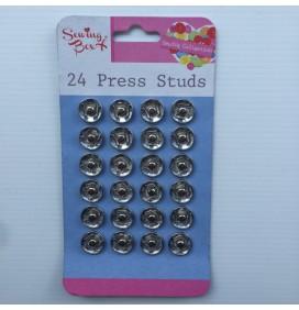 24 Press Studs