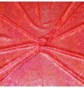 Sequins Fabric 4mm Round Velvet Hologram