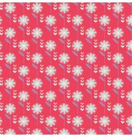 100% Cotton Fabric Retro Floral Patchwork