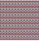 Retro Floral Patchwork Cottons Grey 134