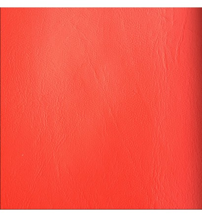 Metro Leatherette Fabric Flame Retardant red