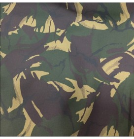 Cotton Canvas Waxed Fabric Camoflage
