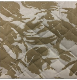 Quilted Fabric Ripstop Camouflage