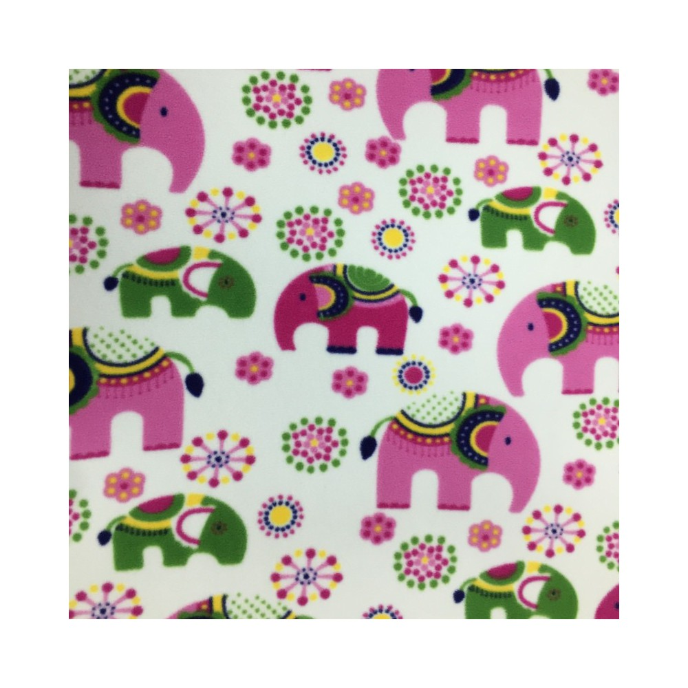 Fleece fabric animal prints eu fabrics for Fleece fabric childrens prints