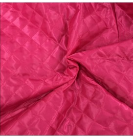 Quilted Fabric Lining Diamond Design