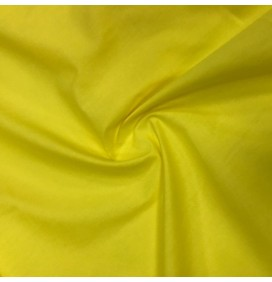 Plain Polycotton Sunflower