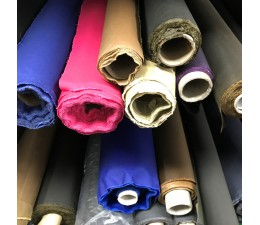 50M Joblot Mixed Cotton Canvas Wax Fabric