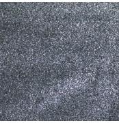 Glitter Fabric Moondust Fine Flakes Dark Silver