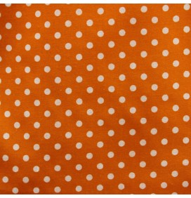 Polycotton Fabric Polka Dots