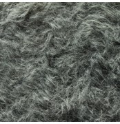 Mohair 18MM Fur Fabric Grey