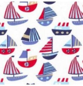 Polycotton Fabric Boats
