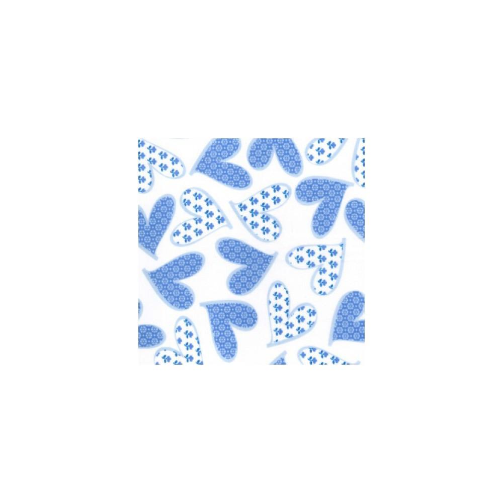 Polycotton Prints Flower Hearts Eu Fabrics
