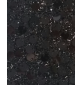6mm Round Sequins Black Ground Gold