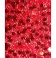 6mm Round Sequins Black Ground Red