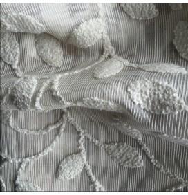 Wide Width Heath Natural Curtain Fabric