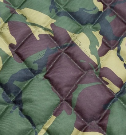 Quilted Fabric 4oz Waterproof Double Diamond Design