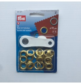 11mm Eyelets with Washers