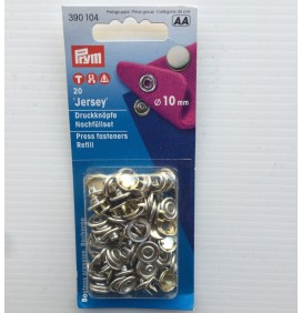 10mm Jersey Press Fasteners Refill