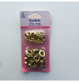 8.7mm Eyelet - Refill Pack