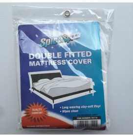Double Fitted Mattress Cover