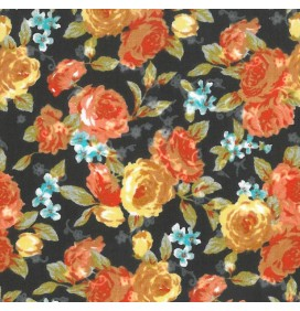 100% Cotton Fabric Printed Poplin