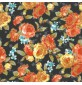 100% Cotton Printed Poplin Black 5352-2