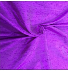 Silk Dupion Fabric Violet 16