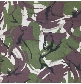 Polycotton Twill Fabric Camo