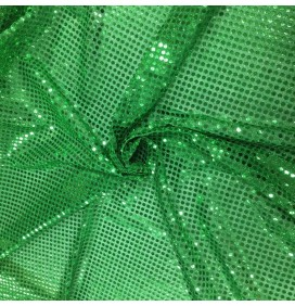 6mm Round Sequins Emerald