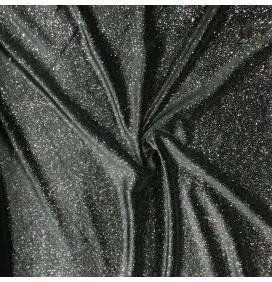 Glitter Velvet Velour Fabric Sparkly