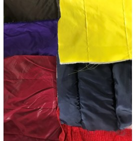 300 Meters Joblot Quilted Fabric