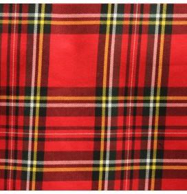 Viscose Tartan Fabric