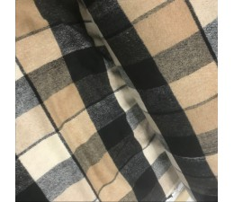 Wool Check Fabric