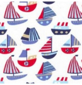 Polycotton Fabric Boats