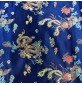 Chinese Brocade Fabric Royal
