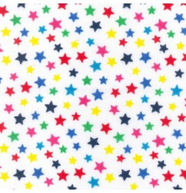 Polycotton Fabric Stars