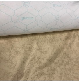 Cream Automotive Vinyl Leatherette Fabric Clearance