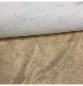 Cream Automotive Vinyl Leatherette Fabric Clearance