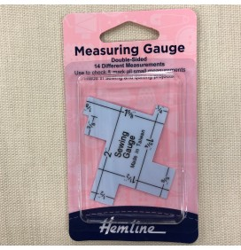 Measuring Gauge 14 measurements