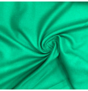 Emerald Green Baize Wool Fabric