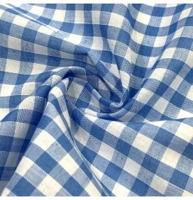Gingham Fabric 1/4 Inch Check
