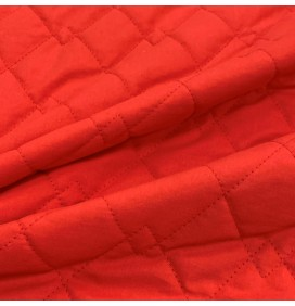Quilted Fabric Polycotton Double Diamond
