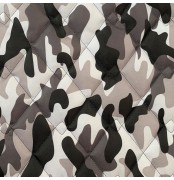 Quilted Fabric 4oz WATERPROOF FABRIC PU Camouflage print