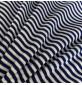 RIBBING FABRIC 55CM Tubular Stretch Knit Trimming Cuffs Garments Chunky Thick Royal Stripes