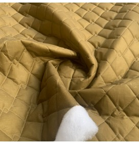 Quilted Wax Fabric 100% Cotton canvas