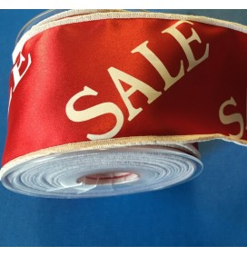 Satin Ribbon Sale Print