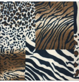 Printed Fleece Fabric Animal Prints